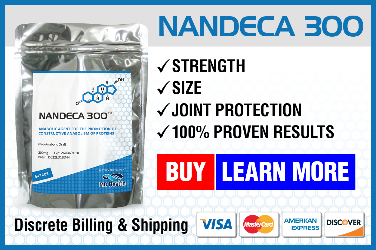 100% banners_NANDECA 300 - Steroid Abuse