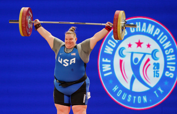 Crackdown on doping by the USADA in women's weightlifting